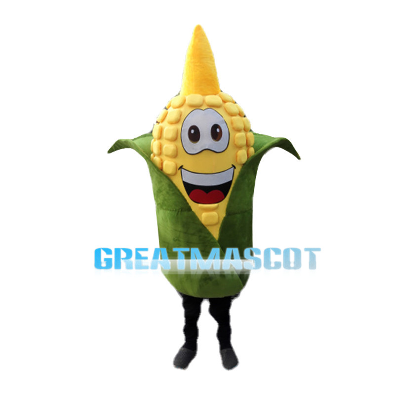 Ripe Corn Wrapped In Hulls Mascot Costume