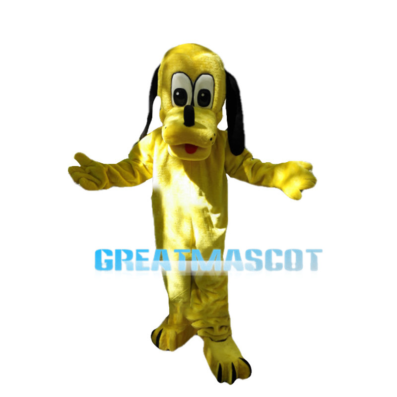 Loyal Friendly Dog Pluto Mascot Costume