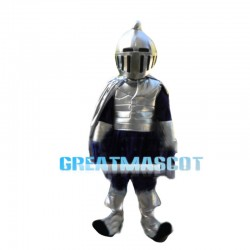 Elite Armored Force Soldier Mascot Costume