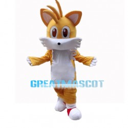 Cartoon Yellow Cat Mascot Costume
