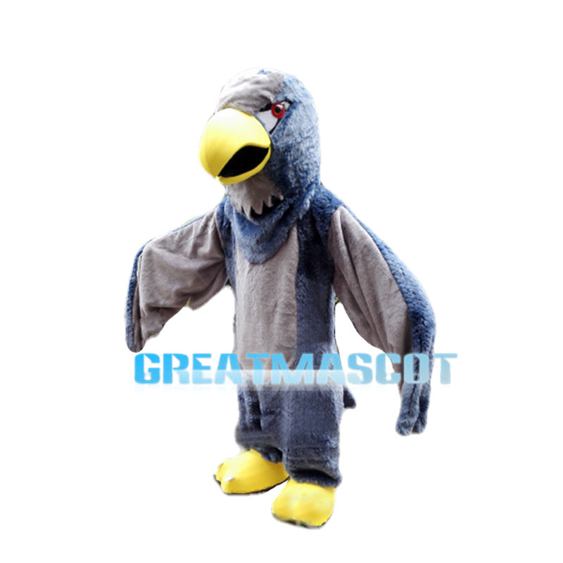 Flying Eagle With Red Eyes Mascot Costume