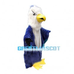 Violent Eagle With Hairy Head Mascot Costume