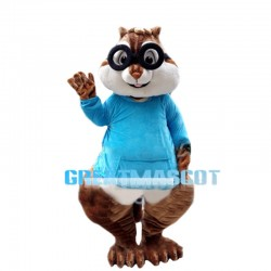 Naughty Fascinating Chipmunks Mascot Costume