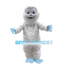 Non-aggressive White Snow Monster Mascot Costume