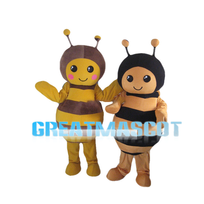 Friendly Bee Brothers Mascot Costume