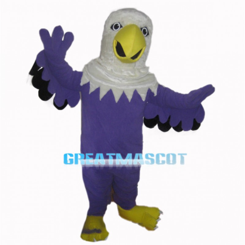Spiritual Blue Eagle Mascot Costume