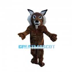Older Muscle Tiger Mascot Costume