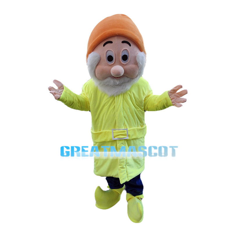 Kind Witty Dwarf Mascot Costume