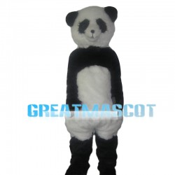 Plush Tall Panda Mascot Costume