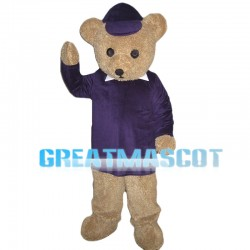 Lovable Brown Teddy Bear Mascot Costume