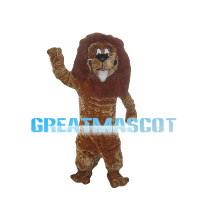 Strong Adult Lion Mascot Costume