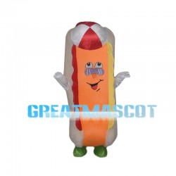Cartoon Healthy Sandwich Mascot Costume