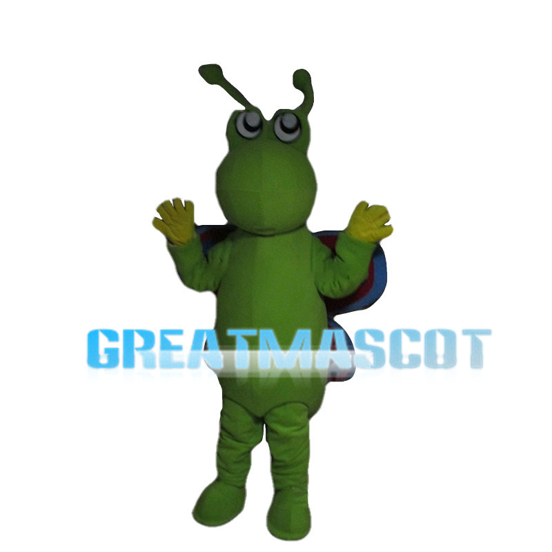 Green Butterfly Mascot Costume