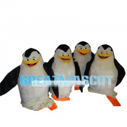 Penguin Family Mascot Costume