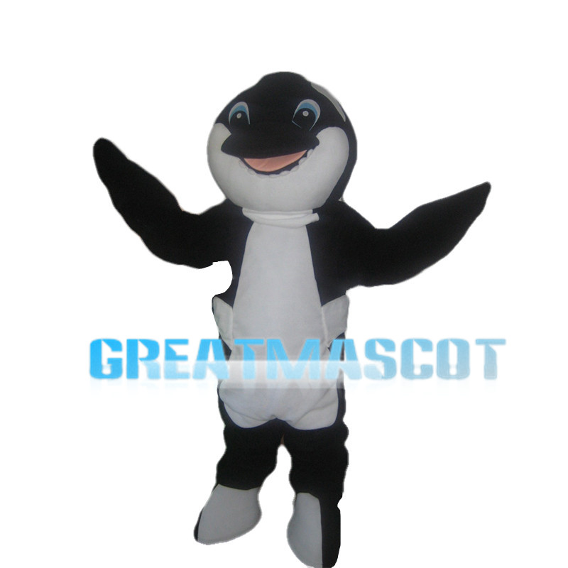 Blue Eyes Dolphin Mascot Costume