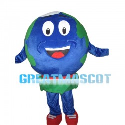 Round Earth Mascot Costume