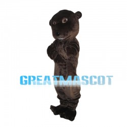 Whole Brown Beaver Mascot Costume