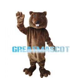 Greeting Beaver Mascot Costume