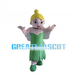 Green Flower Fairy Mascot Costume