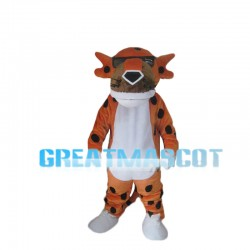 Cool Tiger With Sunglasses Mascot Costume