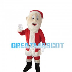 Helpful Kind Santa Claus Mascot Costume