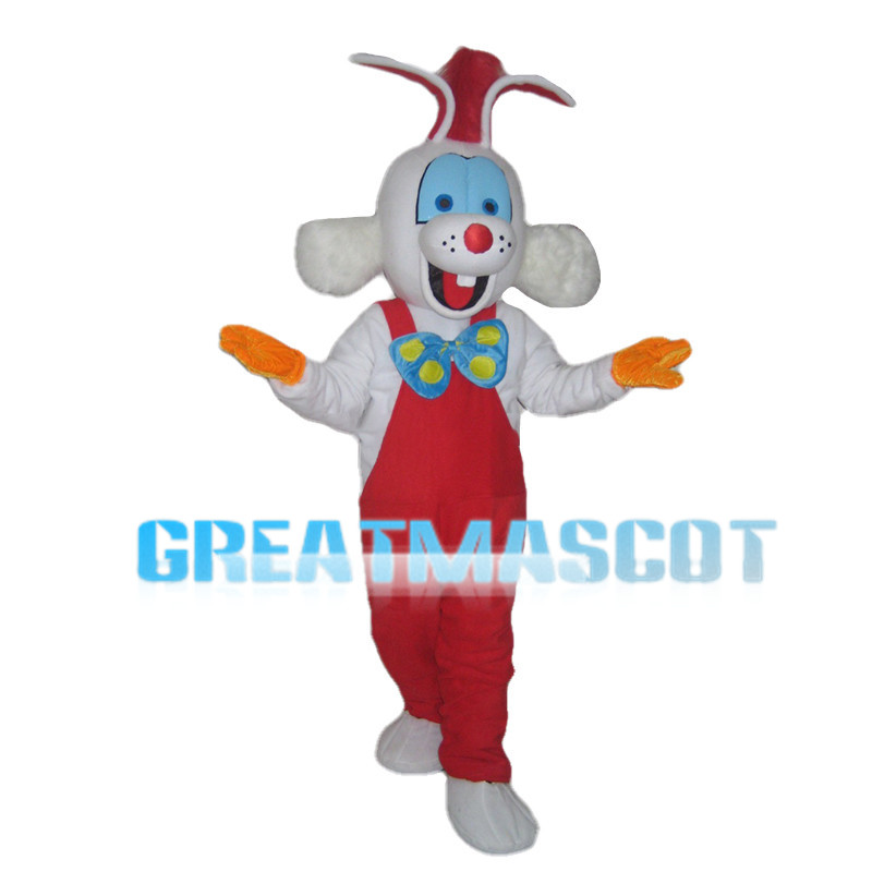 Super Star Roger Rabbit Mascot Costume