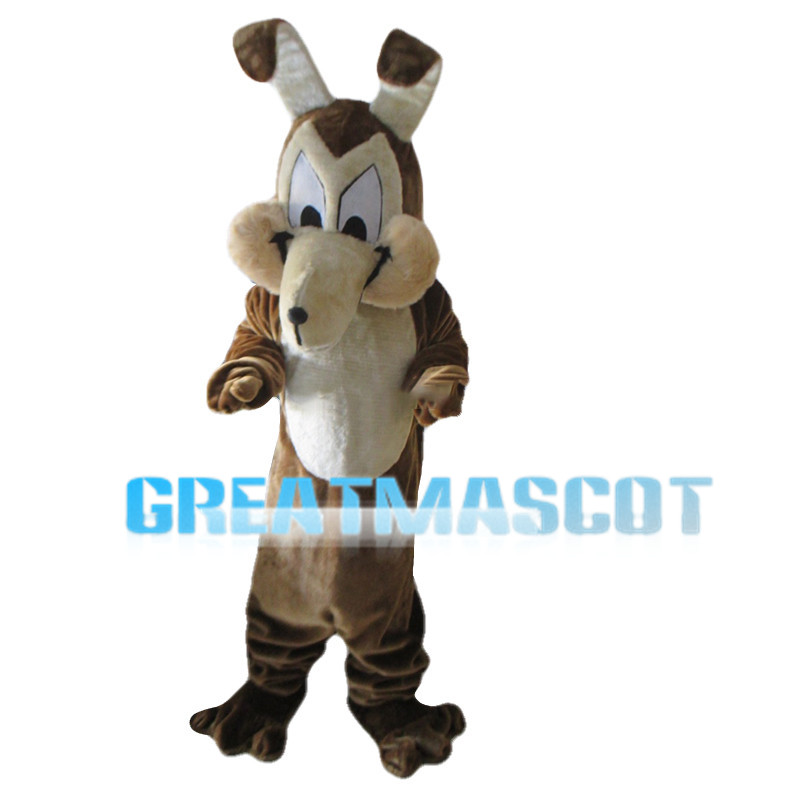 Hilarious Brown Dog Mascot Costume
