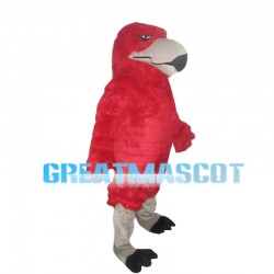 Full Body Red Eagle Mascot Costume