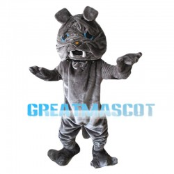 Grey Sharpei Mascot Costume