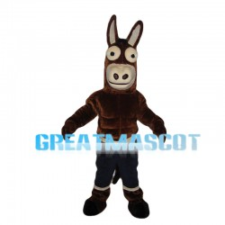 Funny Muscle Horse Mascot Costume
