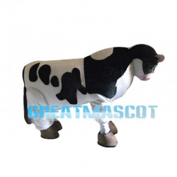 Milk Production Cow Mascot Costume