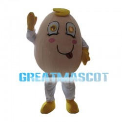 Interesting Cartoon Egg Mascot Costume