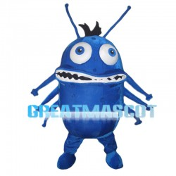 Big Mouth Monster With Tentacles Mascot Costume