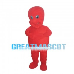 Full Red Dragon Baby Mascot Costume