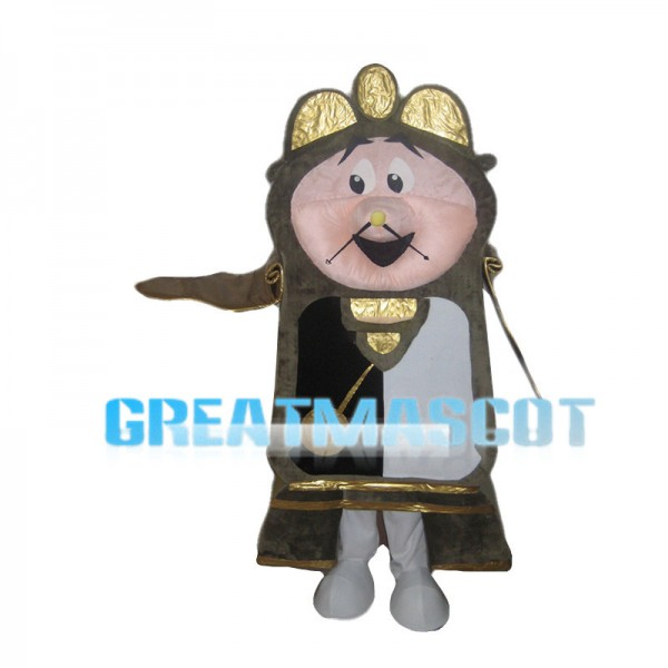 Old Vintage Wall Clock Mascot Costume