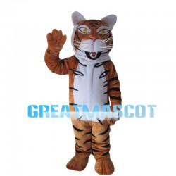 Affable Adult Tiger Mascot Costume