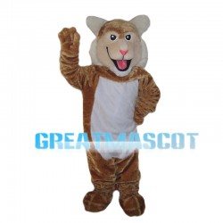 Jolly Greeting Tiger Mascot Costume