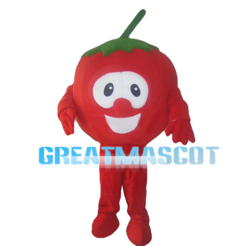 Fresh Tasty Red Tomato Mascot Costume