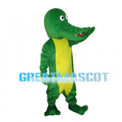 Bald Crocodile Mascot Costume