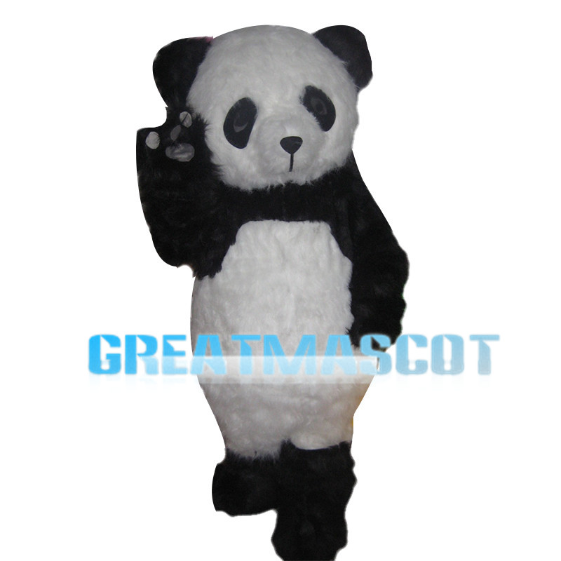 National Treasure Panda Mascot Costume