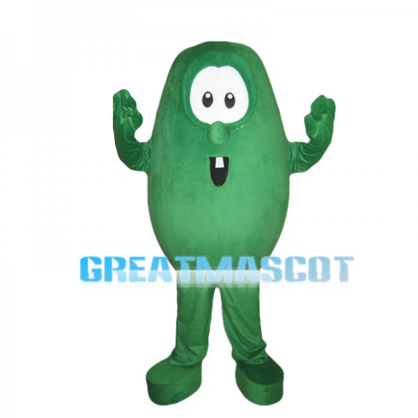 Cartoon Green Pea Mascot Costume