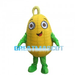 Plump Ripe Corn Mascot Costume