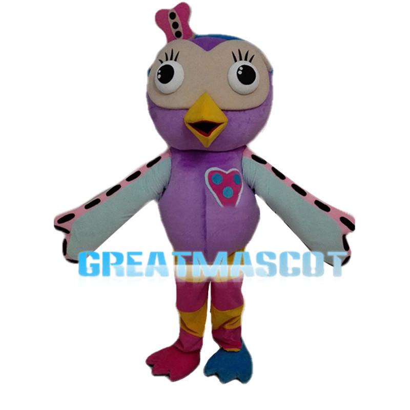 Colorful Small Bird Mascot Costume