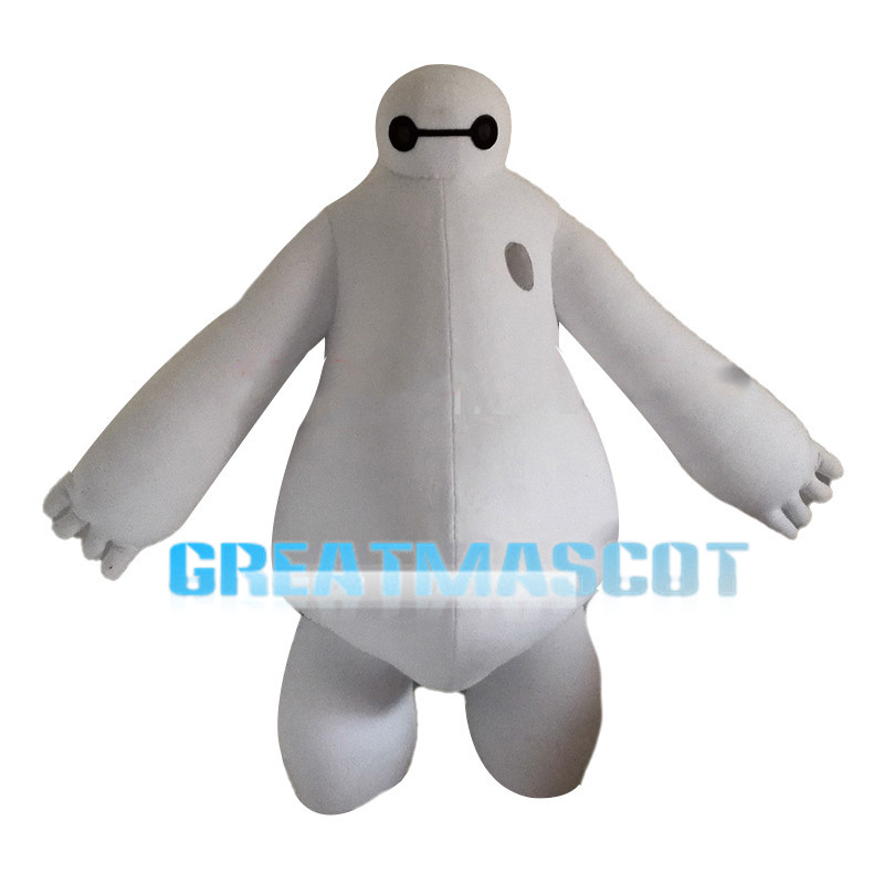 Fat Inflatable Intelligent Robot Baymax Mascot Costume