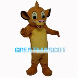 Ignorant Little Lion Simba Mascot Costume