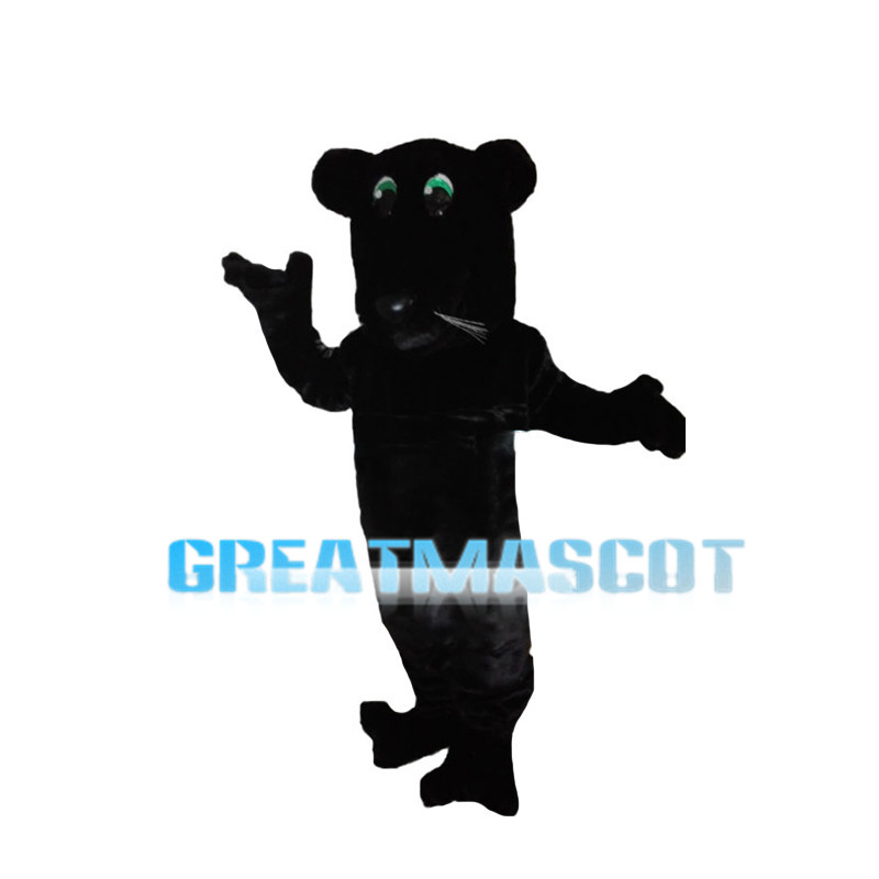 Silly Beaver With Green Eyes Mascot Costume