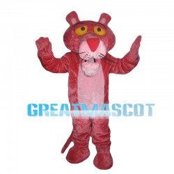 Lifesome Pink Tiger Mascot Costume