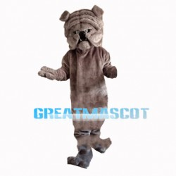 Crumpled Shar Pei Dog Mascot Costume