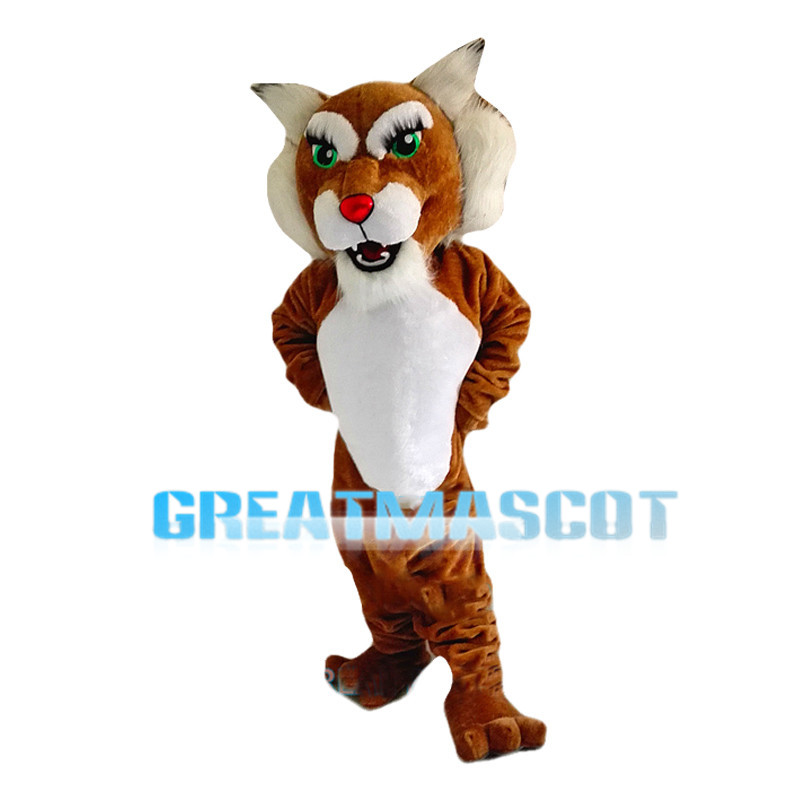 Green Eyes Tigress Mascot Costume