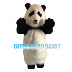 Humorous Fat Panda Mascot Costume